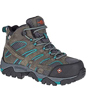 Merrell Work Women's Moab Vertex Mid Waterproof CT