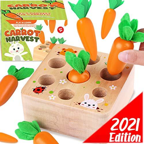 Cheffun Wooden Montessori Toys for …