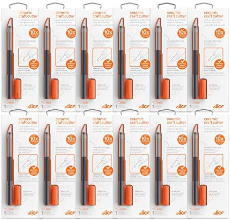 Slice 10548 CS Ceramic Blade Craft Knife 12 Pack Removable Safety Cap product image