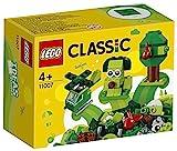 LEGO Classic MattonciniVerdiCreativi, Giocattoli per Bambini dai 4 Anni in su, Introduzione ai Set, 11007