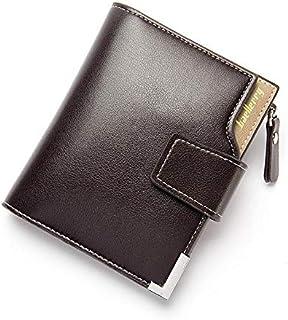 محفظة ثلاث طبقات بسوستة وفتحة لحفظ الكروت للرجال من بايليري