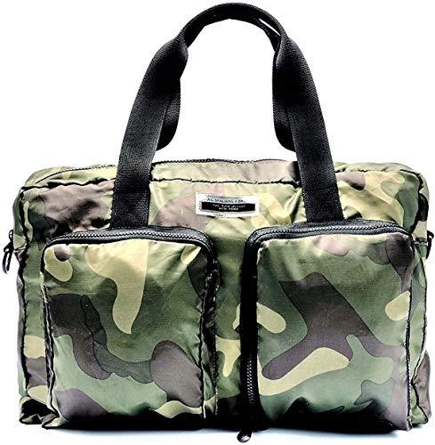 Borsa Cartella Borsone Nylon Viaggio Palestra Ripiegabile A.G.SPALDING&BROS Uomo Donna Woman Man Folding Briefcase Camouflage