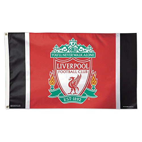 WinCraft Liverpool FC Flag Deluxe 3 x 5 Foot