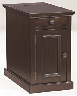Signature Design by Ashley Chairside End Table in Sable Finish