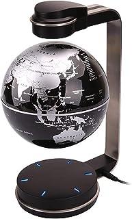 """Globe Office Globe, 6"""" Magnetic Floating Globe with Led Light - Anti-Gravity Levitation Rotating World Map Globe - Creativ..."""