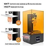 LGT Longer Orange 10 SLA 3D Printer, LCD Resin 3D Printer with Upgraded Parallel UV LED Light, Fast Cooling System & Resume Printing, Off-line Printing, Build Size 3.86' x 2.17' x 5.5', Metal