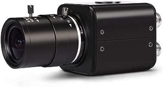 MOKOSE Mini SDI Camera, HD-SDI 2 MP 1080P HD Digital CCTV Security Camera, 1/2.8 High Sensitivity Sensor CMOS with 2.8-12mm Manual Varifocal HD Lens