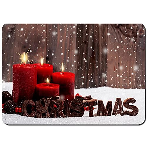 DmiGo Bath Rugs and Mats,christmas decorations toys garlands,Non-slip Absorbent Bathroom Kitchen Runner Floor Mat Carpet 75x45cm