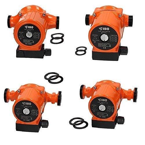 Heizungspumpen in verschiedenen Ausführungen !!! Umwälzpumpe Hocheffizienzpumpe von IBO in den Varianten 25-40/180, 25-60/180, 25-80/180, 25-60/130. (25-80/180)