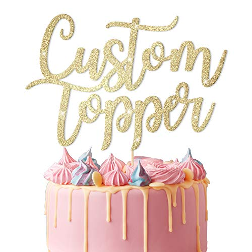 EDSG Personalised Cake Topper Custom Cake Topper.Happy...