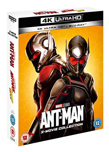 Marvel Studios Ant-Man/Ant-Man & The Wasp Doublepack UHD [Blu-ray] [2020] [Region Free]