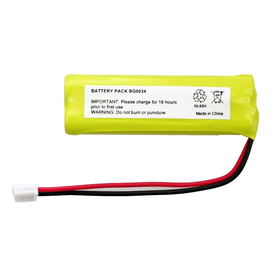 Fenzer Rechargeable Cordless Phone Battery for V-Tech BT18443 BT28443 Cordless Telephone Battery Replacement Pack