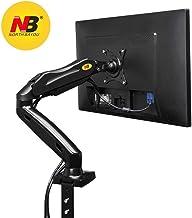NB North Bayou 17-27 Pulgada El Soporte Ajustable para Monitor Soporte Profesional del Monitor Brazo Escritorio Monitor Soporte Escritorio Girar Libremente con Dos Puertos USB (17