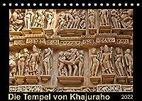 Die Tempel von Khajuraho (Tischkalender 2022 DIN A5 quer): 12 Bilder aus der aussergewoehnlichen Tempelanlage in Indien (Monatskalender, 14 Seiten )