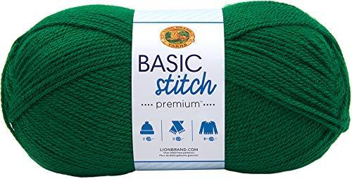Lion Brand Green Yarn