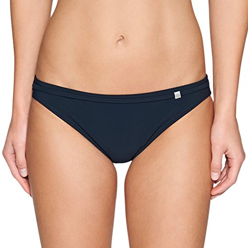 Marc O'Polo Body & Beach Damen Bikini-Slip Bikinihose, Blau (Midnight Blue), 38 (Herstellergröße: 038)