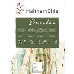 Hahnem�hle Bamboo Mixed Media Block - 16 1/2'' x 22'', 25 Sheets