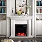VeenShop 26' 750W-1500W Fireplace Electric Embedded This is The Embedded Fireplace which is Quite Ideal for Your Home or Office. Black