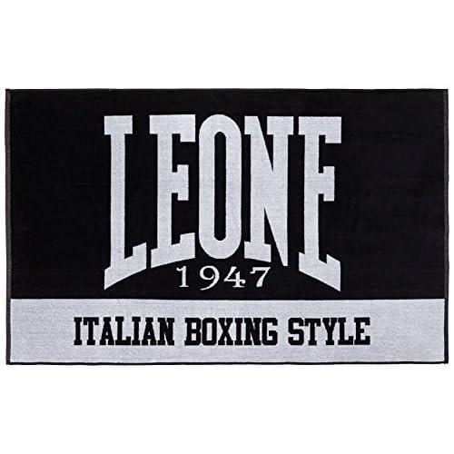Leone 1947 Ac916 Telo Da Palestra, Nero, Taglia Unica