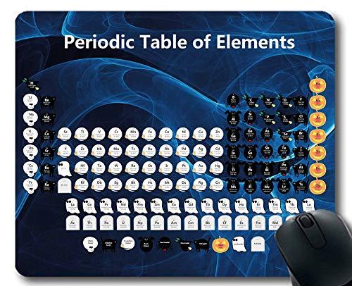 Mauspads, 2019 Periodensystem der Elemente Mauspad, Schulbüro Computerzubehör, Dickes Gummi-Mousepad