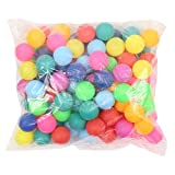 50 PCS Colored Table Tennis Balls Ping Pong Balls 40mm Ideal for Games Adults & Children Not suitable for professional athletes