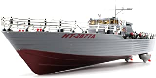 Warship HT-Destroyer Remote Control RC Boat 1:52 Authentic Navy Battle Ship Ready To Run, Dual Propeller Motor Design