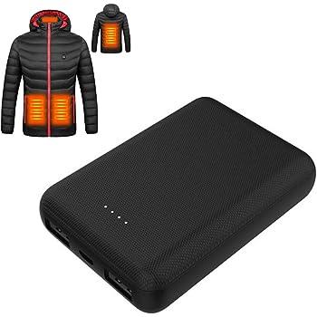 J-Jinpei 7.4V 2200mah 4000mah Li-ION Batterie Chargeur Accessoires de V/êtements Gants Chauffants Veste Chaussettes