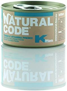 Natural Line Kitten Tonno/Vitamina premix Gr. 85