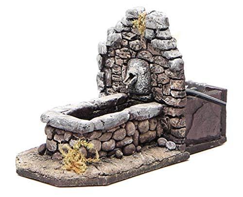 Krippenbrunnen aus Kunstharz in Steinoptik für den Innen- und Außenbereich