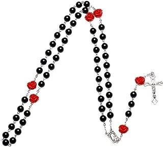Ogquaton /Collier de cerise rouge boucles doreilles ensemble bijoux robe de d/îner accessoires de mari/ée /él/égant et populaire