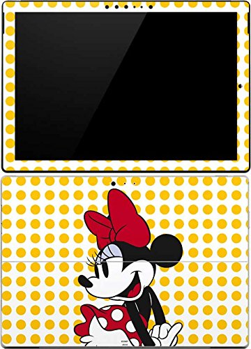 Skinit Decal Tablet Skin Compatible with Surface Pro 4 - Officially Licensed Disney Minnie Mouse Yellow Dots Design