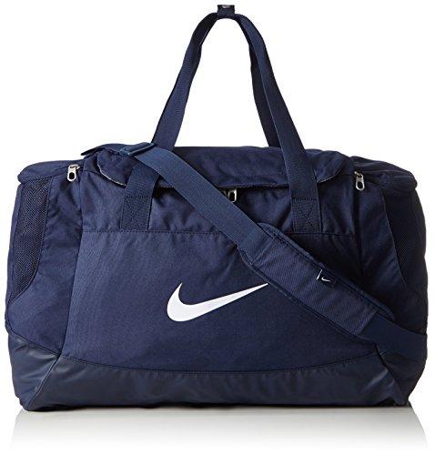 Nike Unisex Sporttasche Club Team Swoosh, dark blue/white, 53 x 37 x 27 cm, 52 Liter, BA5193-410