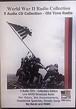 World War II Radio Collection V.1 5 Audio CD's