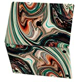 Mertak Vinyl Skin for Apple MacBook Air 13 inch Mac Pro 16 15 Retina 12 11 2020 2019 2018 2017 Print Top Abstract Clear Artistic Texture Decal Laptop Touch Bar Design Wrap Painted Marble Trackpad
