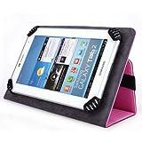 Zeki TBDG734B 7 Inch Tablet Case, UniGrip Edition - Pink - by Cush Cases