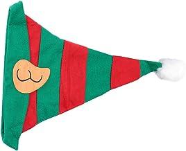 KESYOO Kids Christmas Elf Hat Santa Claus Cap Xmas Cosplay Hat for Holiday Halloween Seasonal Dress Up Costume Accessories...