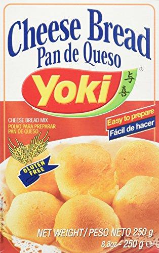 Yoki Pan De Queso - 12 Paquetes de 250 gr - Total: 3000 gr