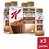 Kellogg's Special K, Protein Shakes, Chocolate Mocha, Gluten Free, 10 fl oz Bottles, 4 Count (Pack...