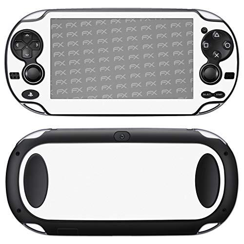 atFoliX Skin compatible con Sony PlayStation Vita, Sticker Pegatina (FX-Soft-Alpine), Superficie mate
