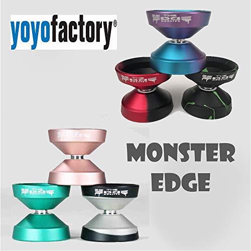YoYoFactory Monster Edge Yo-Yo - World Champion Evan Nagao Signature YoYo (Red Black)