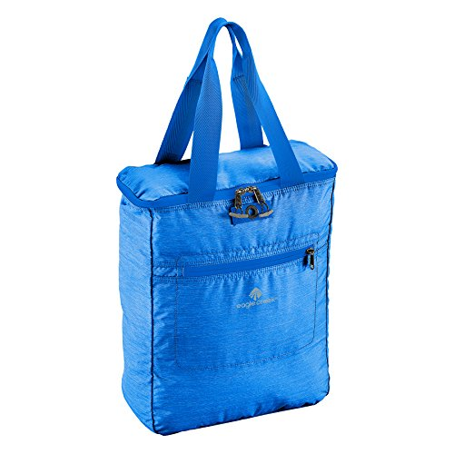Eagle Creek Ultraleichter faltbarer Tagesrucksack Packable Tote für die Reise Rucksack, 39 cm, 18 L, blau Sea