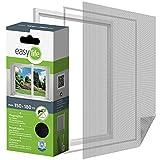 Protección Insectos Tela Mosquitera para ventana 150 x 180 cm Ventana de protección contra los...