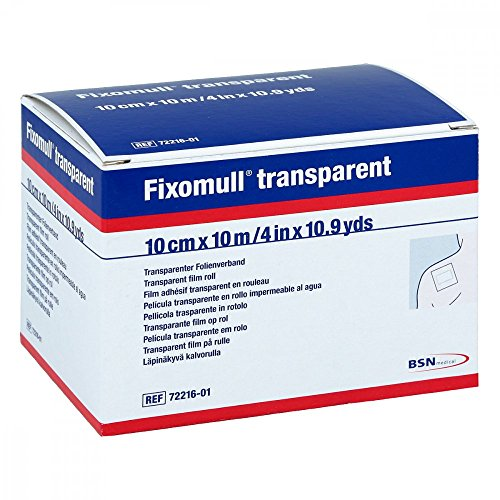 BSN medical Fixomull transparent Klebeband 10 m x 10 cm