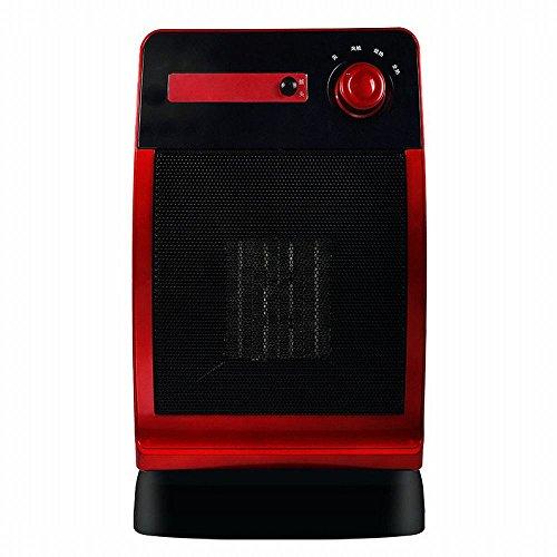 NQ Calentador de Escritorio Ventilador Calentador Baño Pequeño Ahorro de Energía Solar Oficina Mini,Rojo