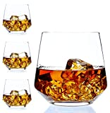 Best Whiskey Glasses - Whiskey Glass Set of 4 by Amallino Review
