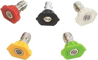 DEWALT DXPA45ST Pressure Washer Nozzle 5 Pack Quick Connect (4.0 4500PSI) 80172
