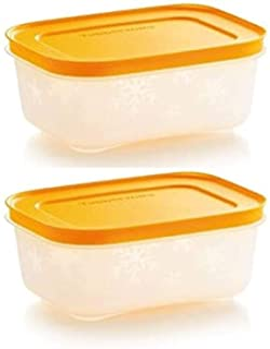 Tupperware freezer storage 2 x 450ml / 1.9 cup