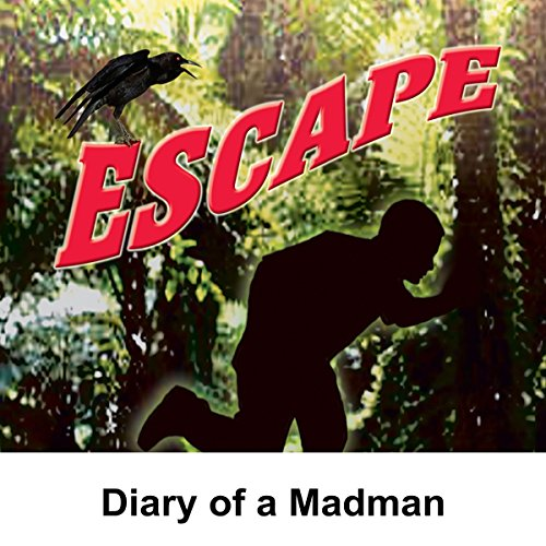 Couverture de Escape: Diary of a Madman
