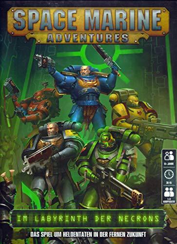 Unbekannt Space Marine Adventures: Im Labyrinth der Necrons Deutsch Games Workshop Warhammer 40K 40.000 Ab 8 Jahre 1-4 Spieler