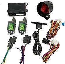 $69 » CarBest Vehicle Security Paging Car Alarm 2 Way LCD Sensor Remote Engine Start System Kit Automatic | Car Burglar Alarm Sy...